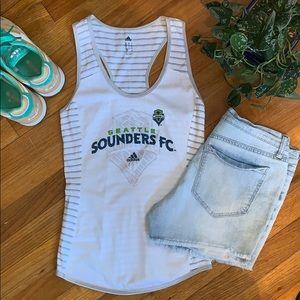 Adidas | Seattle Sounders Racerback Tank!